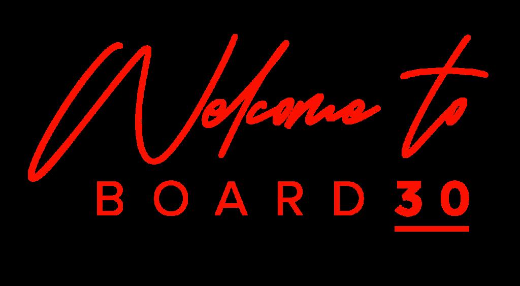 WelcomeToBoard30